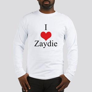 I Love (Heart) Zaydie Long Sleeve T-Shirt