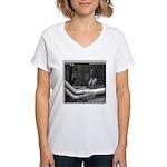 EYES Women's V-Neck T-Shirt