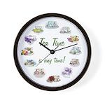 Teatime Wall Clock