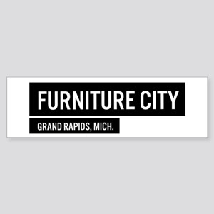 Furniture City Bumper Sticker