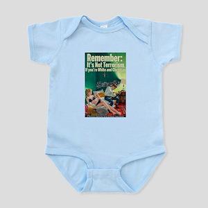 Christian Terrorist Infant Bodysuit