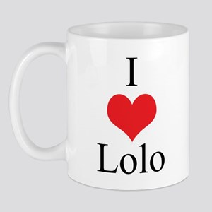 I Love (Heart) Lolo Mug