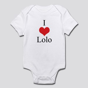 I Love (Heart) Lolo Infant Bodysuit