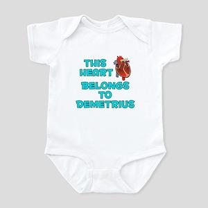 This Heart: Demetrius (B) Infant Bodysuit