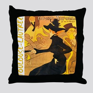 Divan Japonais Throw Pillow