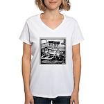 Two Fours Women's V-Neck T-Shirt