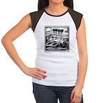 Two Fours Women's Cap Sleeve T-Shirt