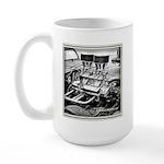 Two Fours Large Mug