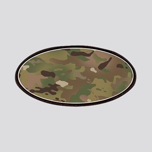 Military Camouflage Pattern Patch