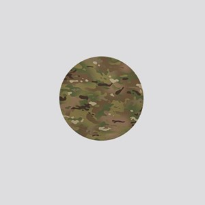 Military Camouflage Pattern Mini Button
