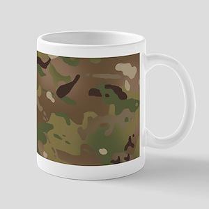 Military Camouflage Pattern 11 oz Ceramic Mug