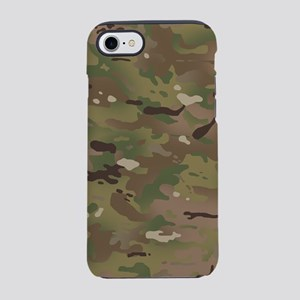 Military Camouflage Pattern iPhone 8/7 Tough Case