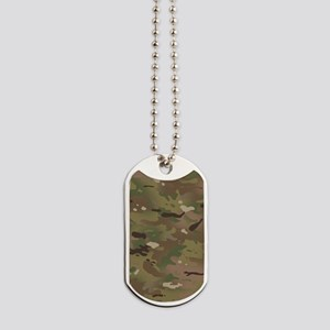 Military Camouflage Pattern Dog Tags