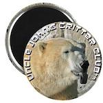 Polar Bear with Logo Magnet
