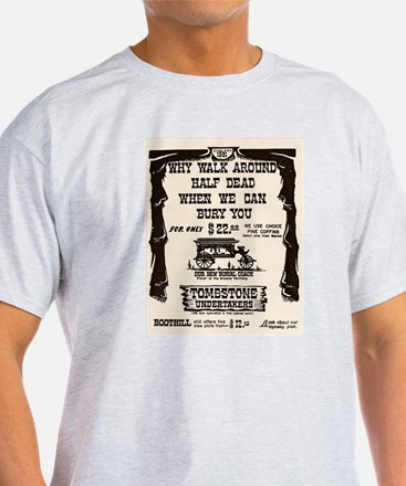 Tombstone Undertakers T-Shirt