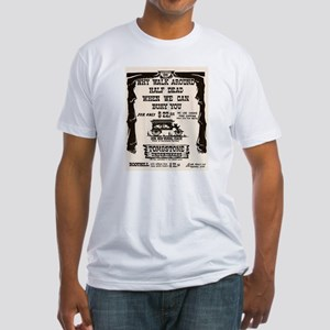 Tombstone Undertakers Fitted T-Shirt