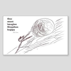 Sisyphus Rectangle Sticker