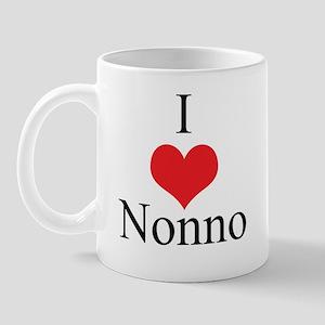 I Love (Heart) Nonno Mug