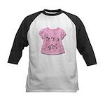 It's a Girl Kids Baseball Jersey