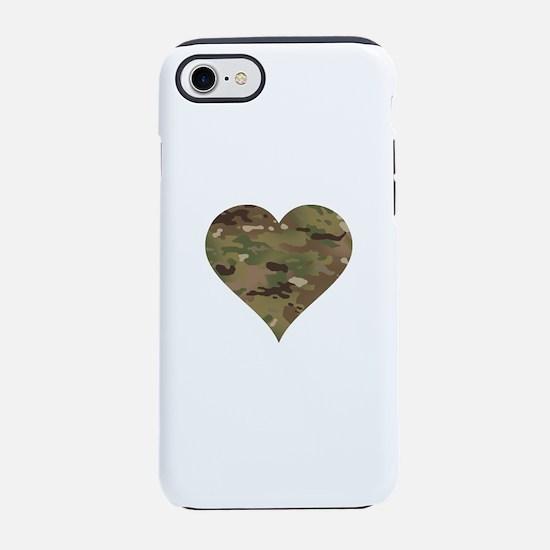 Cute Army spouse iPhone 8/7 Tough Case