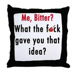 Anti Valentines Day Throw Pillow