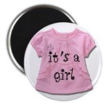 """It's a Girl 2.25"""" Magnet (100 pack)"""