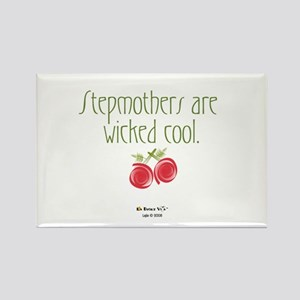 Stepmothers are Wicked Cool R Rectangle Magnet