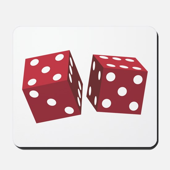LUCKY DICE Mousepad