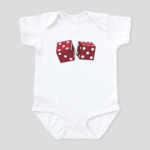 LUCKY DICE Infant Bodysuit