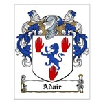 Adair Family Crest Small Poster