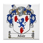 Adair Family Crest Tile Coaster