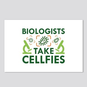 Biologists Take Cellfies Postcards (Package of 8)