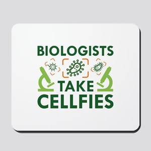 Biologists Take Cellfies Mousepad