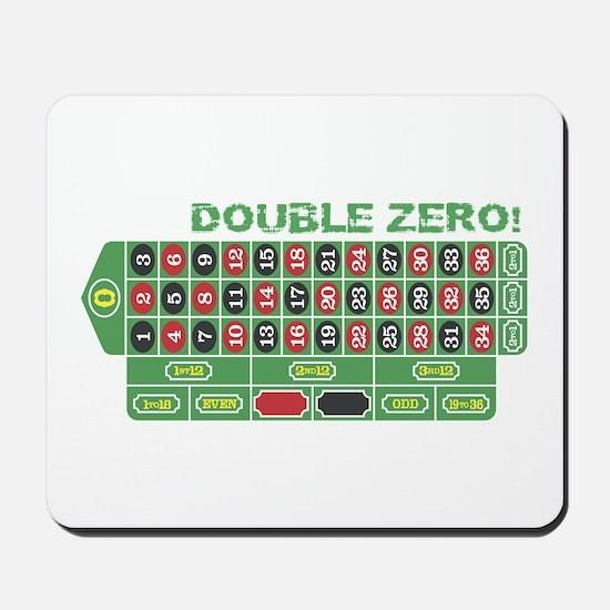 DOUBLE ZERO! Mousepad