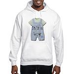 It's a Boy Hooded Sweatshirt