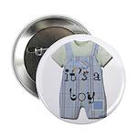"It's a Boy 2.25"" Button (100 pack)"