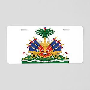 Haiti Aluminum License Plate