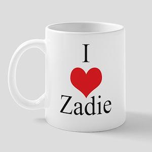 I Love (Heart) Zadie Mug