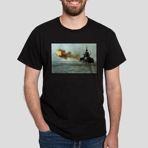 USS Idaho Ship's Image Dark T-Shirt