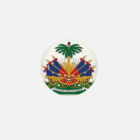 Haiti Mini Button