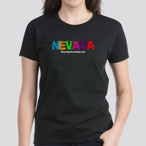 Colorful Nevada Women's Dark T-Shirt