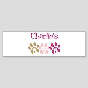 Charlie's Mom Bumper Sticker