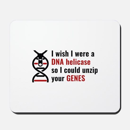 Unzip Your Genes Mousepad
