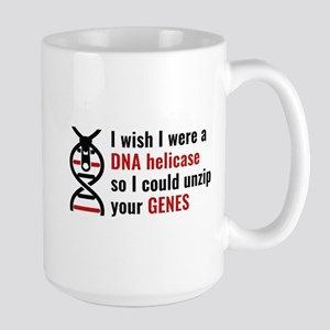 Unzip Your Genes Large Mug