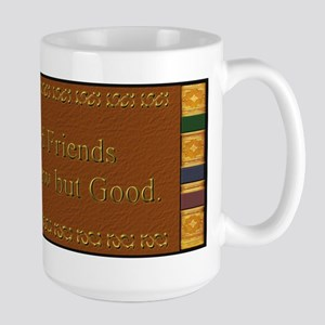Book and Friends  Large Mug