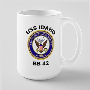 USS Idaho BB 42 Large Mug