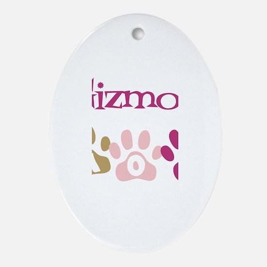 Gizmo's Mom Oval Ornament