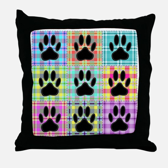 Cute Quilters Throw Pillow