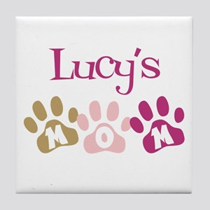 Lucy's Mom Tile Coaster