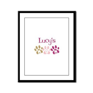 Lucy's Mom Framed Panel Print